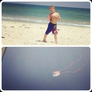 flying kites on SGI