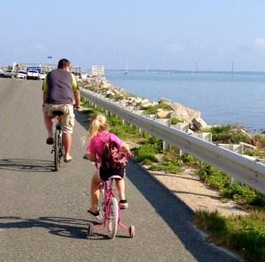 riding bikes on sgi