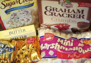 5 ingredients in smores bars