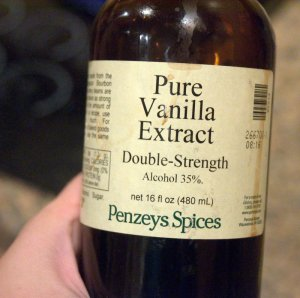 vanilla extract from Penzey's Spices