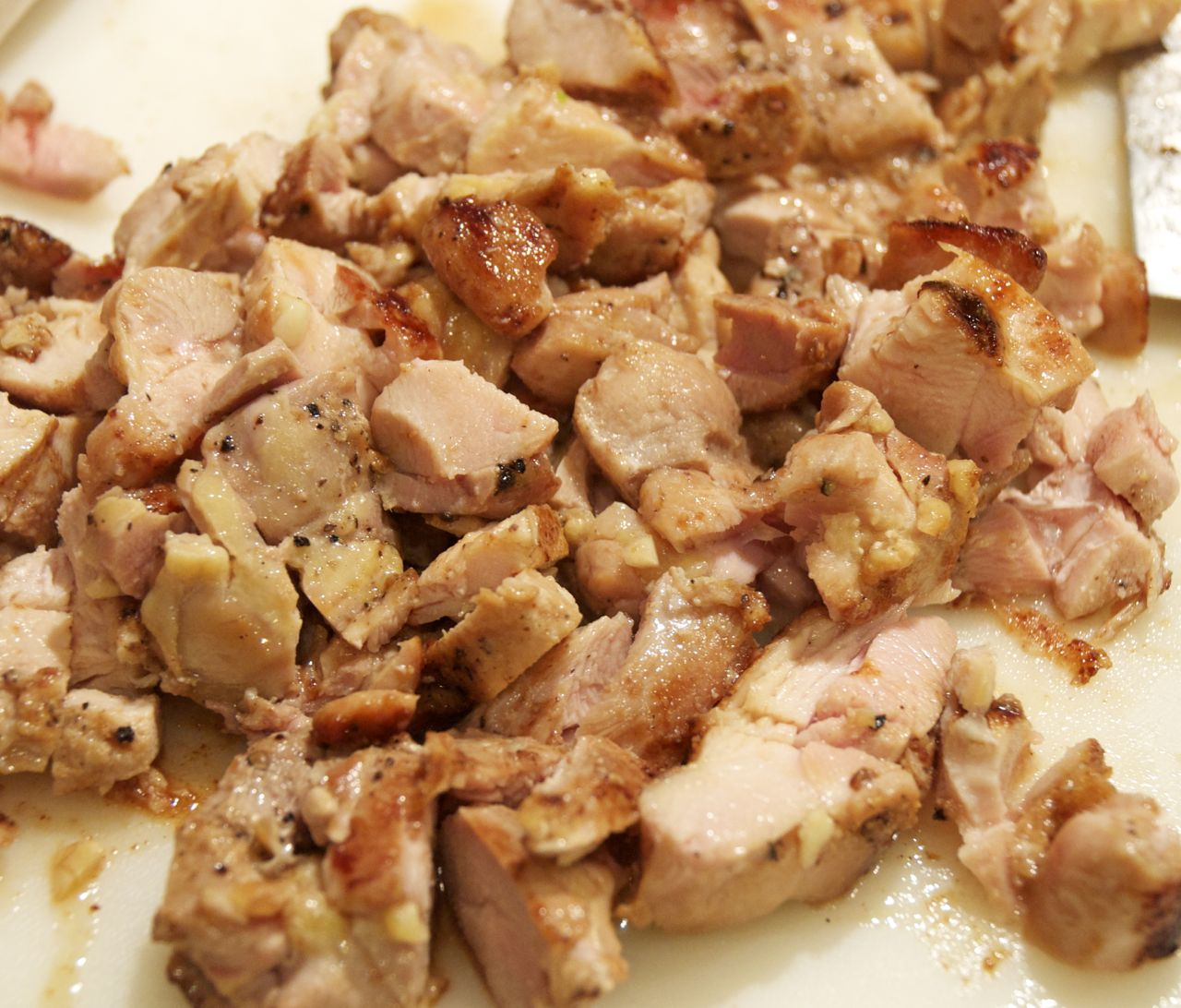 chopped chicken for milano casserole