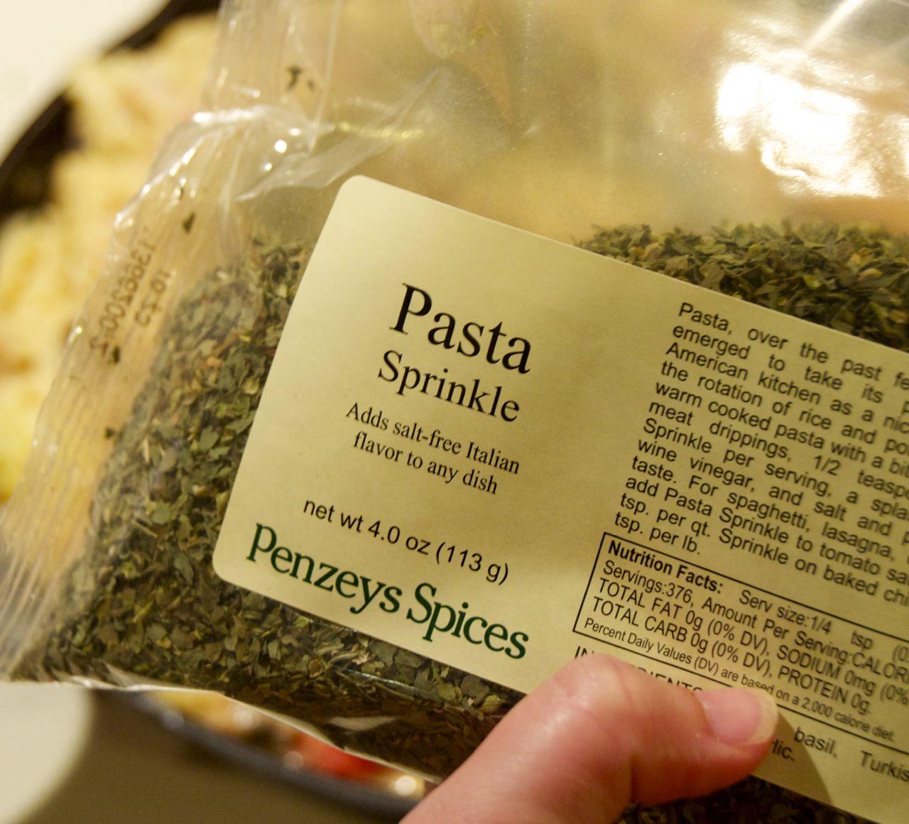 Pasta Sprinkle
