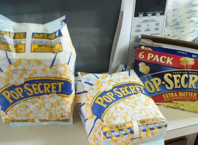 extra butter popcorn