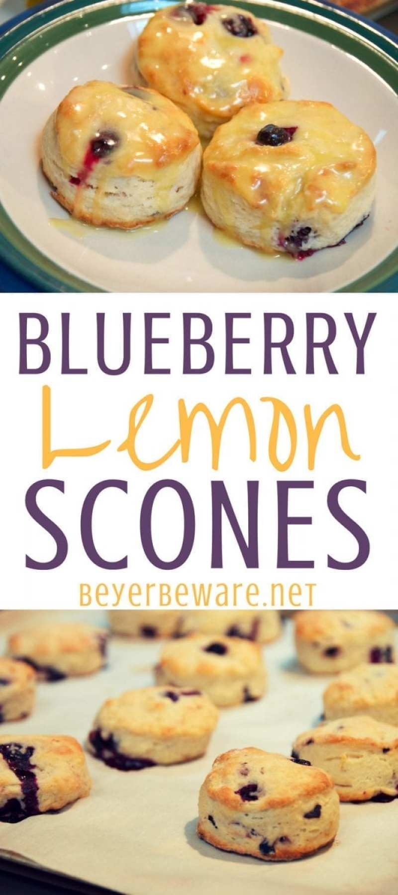 Blueberry Lemon Scones are the perfect spring breakfast or treat with your morning coffee or afternoon tea. These blueberry scones are flaky and flavorful with the hint of lemon flavor.