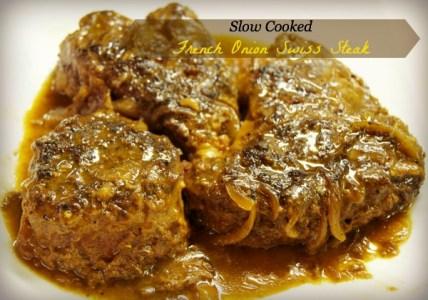 Slow Cooker French Onion Soup Swiss Steak