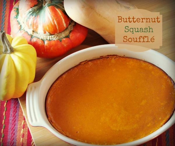 Butternut squash souffle