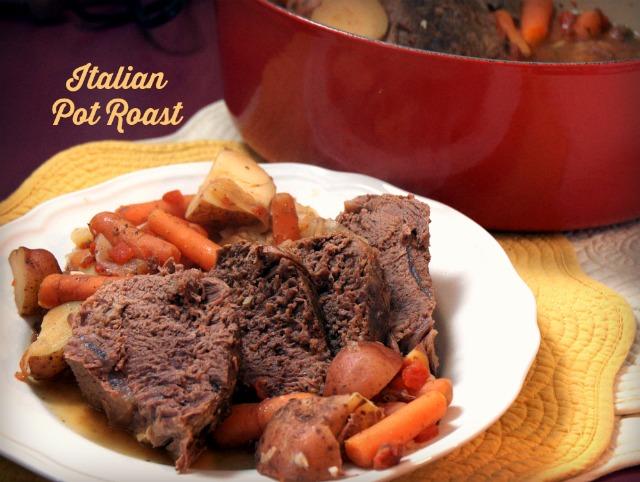 Slow Cooker Zesty Italian Pot Roast