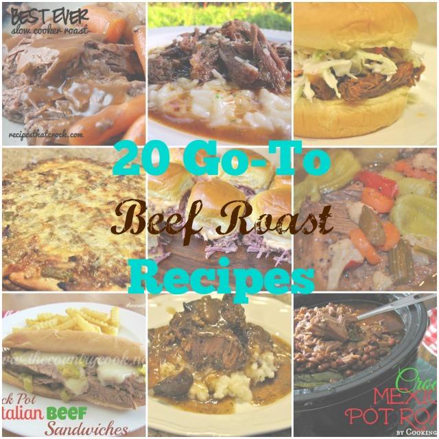 20 Go-To Beef Roast Recipes