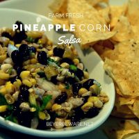 The sweet and savory flavors of this pineapple corn salsa recipe gives is nothing short of addicting.