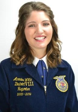 Annalee Witte, Indiana State FFA Secretary
