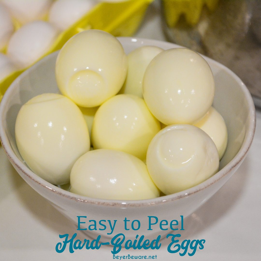 How to make easy to peel hard-boiled eggs? There are a lot of tricks to easy to peel eggs. Here is the full-proof secret for easy to peel eggs with no green yolks too.