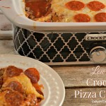 Low Carb Crock Pot Pizza Casserole Recipe is the perfect weeknight meal for families who are on the go and need dinner ready when they get home.