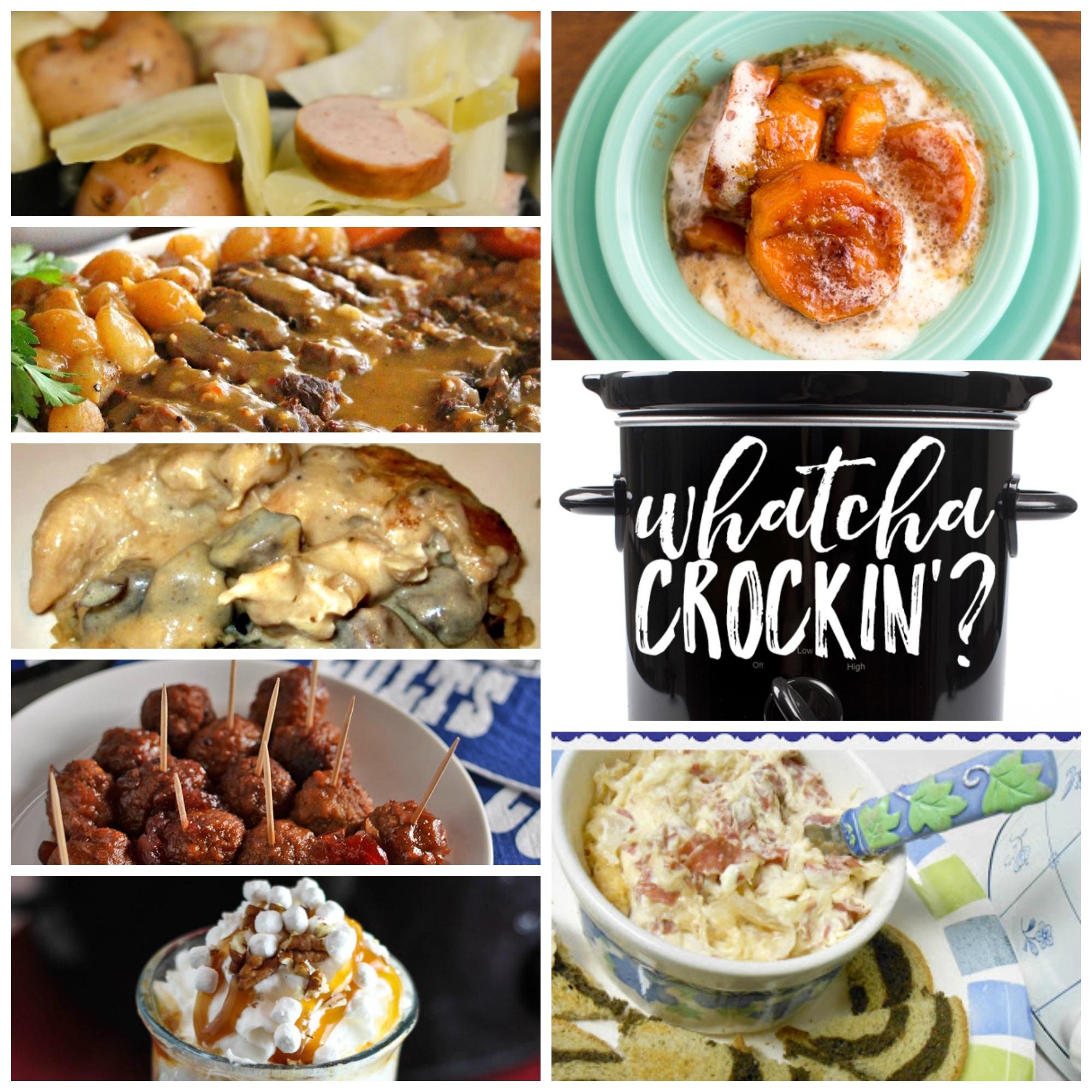 Slow Cooked Roast with Creamy Mushroom Gravy – Whatcha Crockin' – Week 18