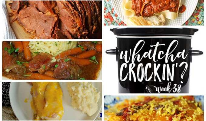 Crock Pot Spaghetti Sauce – Whatcha Crockin' – Week 38