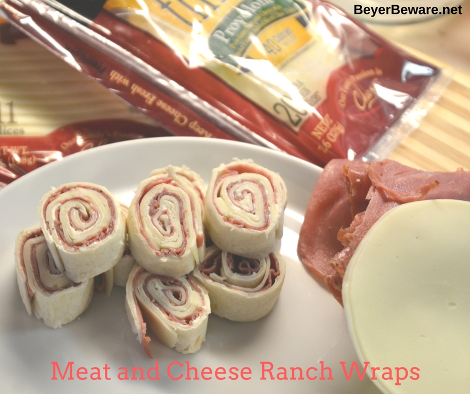 Ham and cheese ranch wraps are staple in our house in the summer. The simple recipe can be made quickly and travels well to where ever the family is heading.