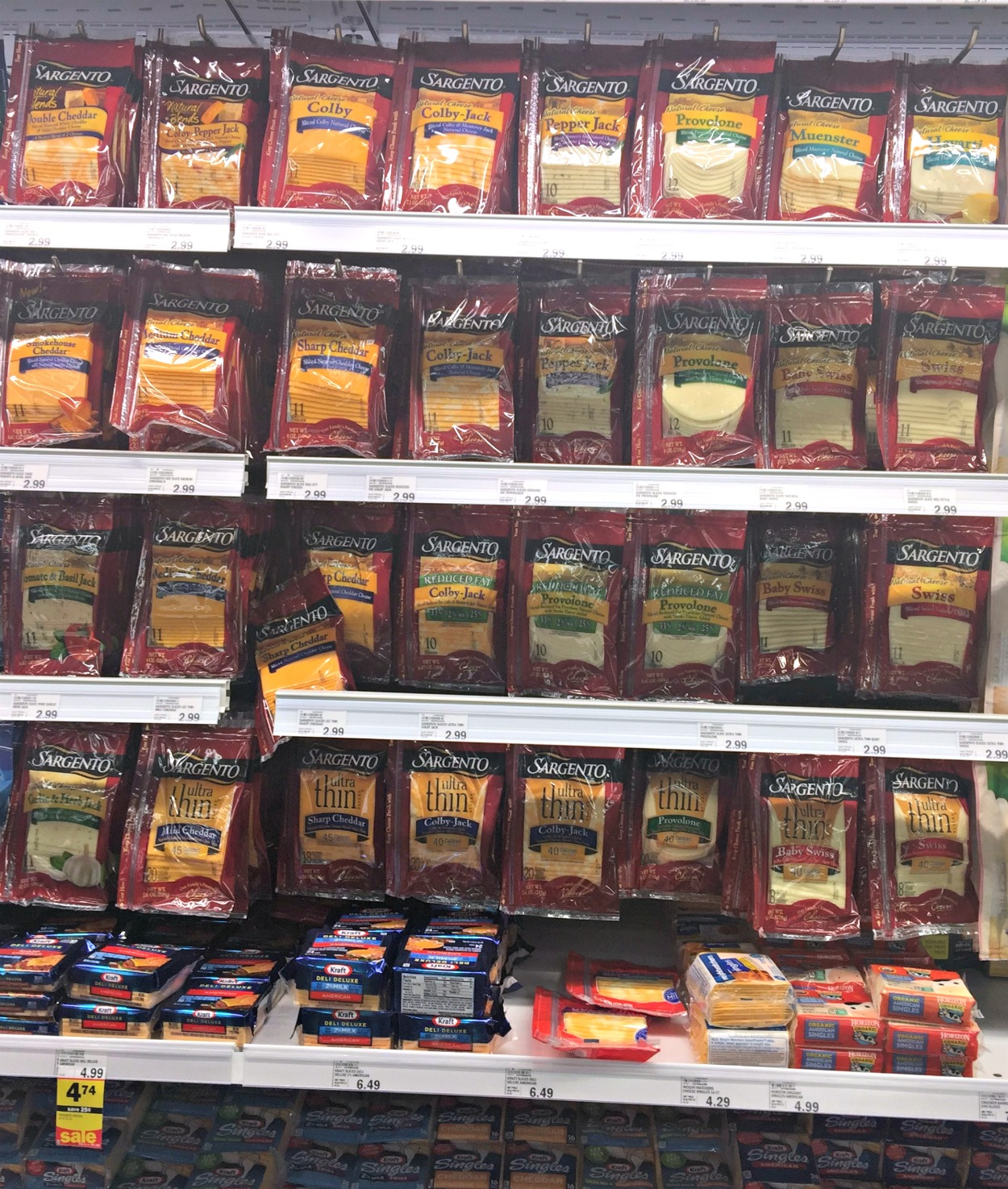 Sargento Natural Cheese at Meijer