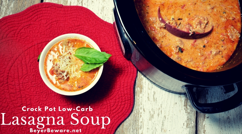 Easy low carb soup recipes