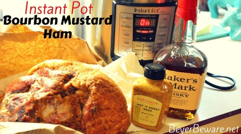 Instant Pot Bourbon Mustard Ham