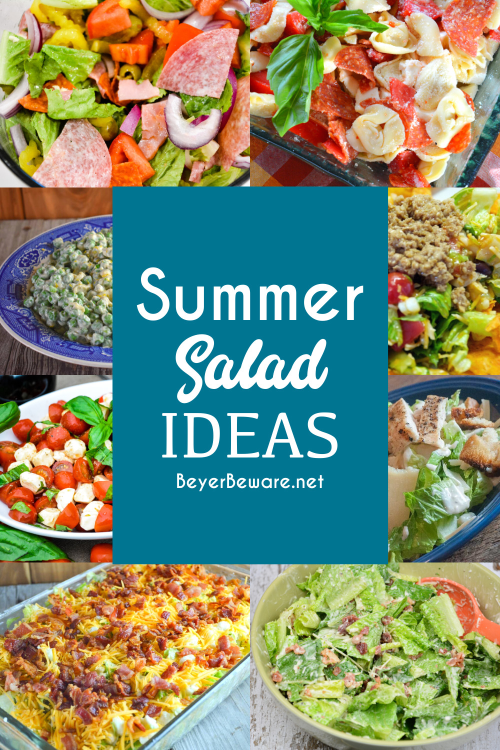 The perfect summer salad ideas.