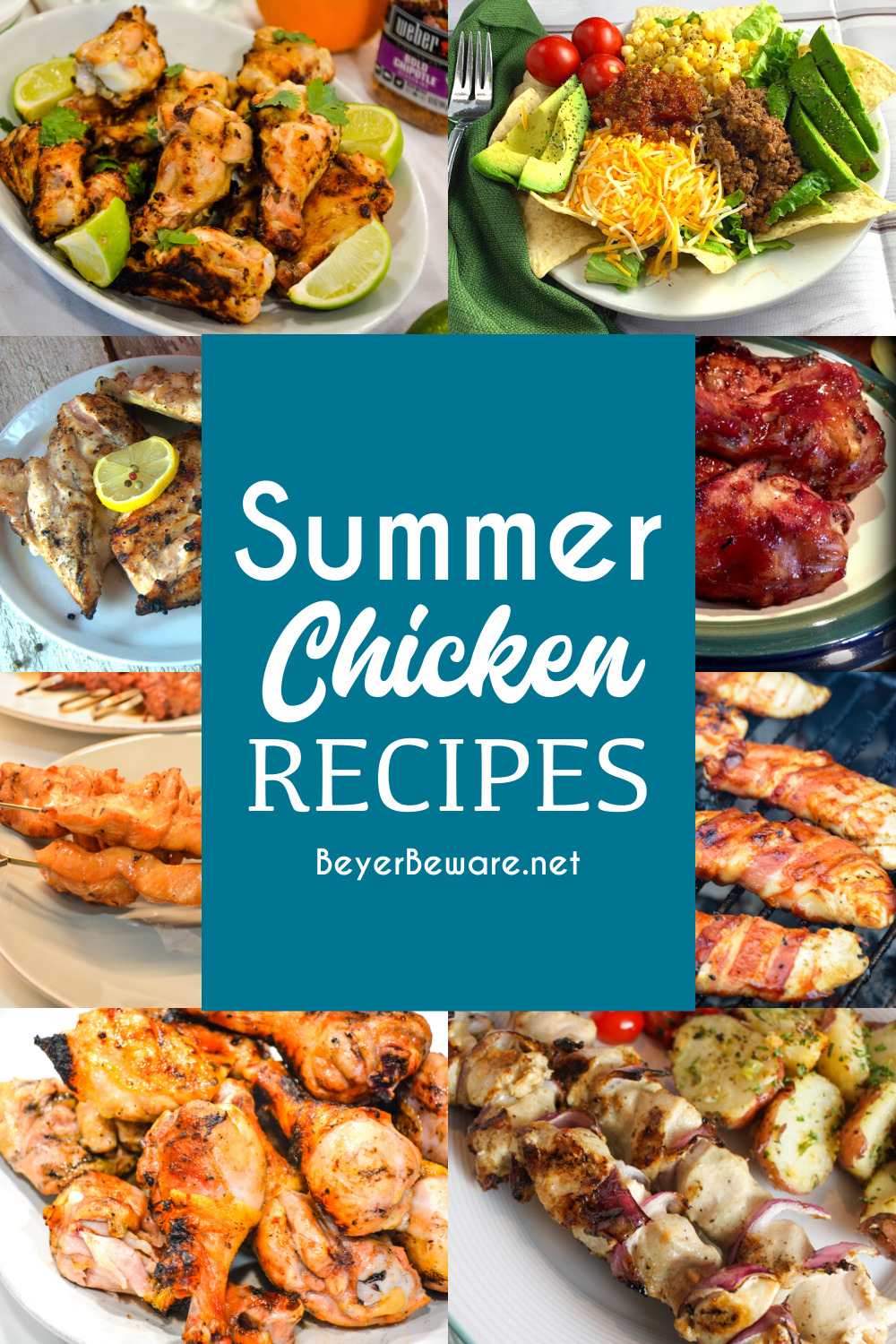 Summer Chicken Recipes