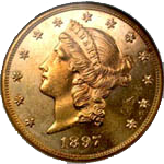 Gold Double Eagle Coin