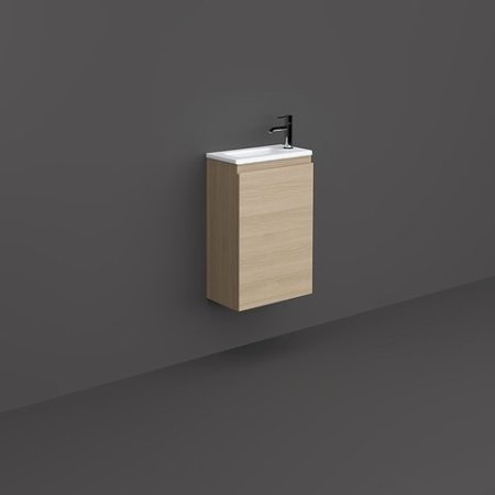 RAK-JOY - JOYWH040SOK Wall Hung Vanity Unit, Scandinavian Oak