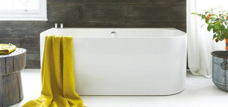 Waters Natura - Strait Back-to-Wall Bath 1
