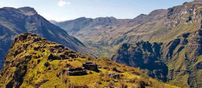 Andes Cordillera, Latin America