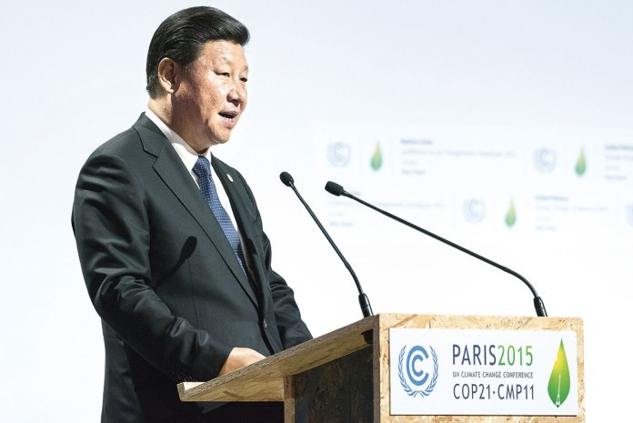 le-bourget-near-paris-france-november-30-2015-xi-jinping-president-of-the-peoples-republic-of-china-delivering-his-speech-at-the-paris-cop21-united-nations-conference-on-climate-change-copy