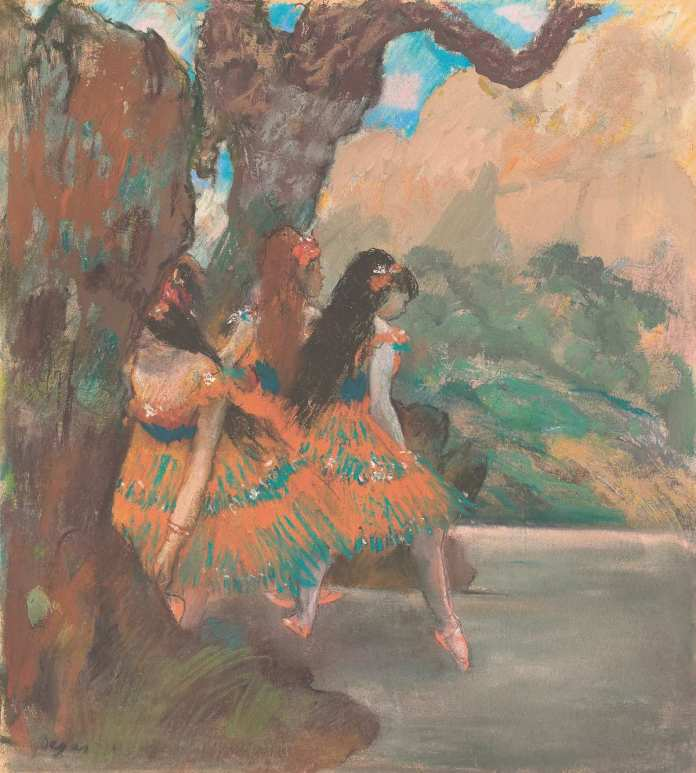 Ballet Dancers, by Edgar Degas (1877)