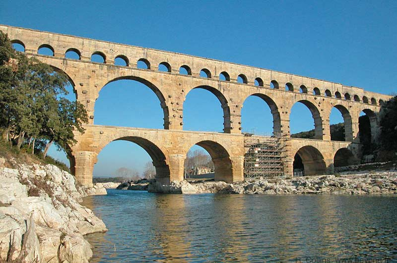 Pont du Gard site visit photos and information by