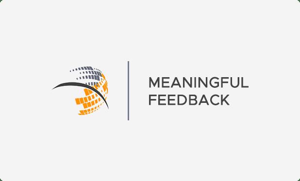 Meaningful Feedback