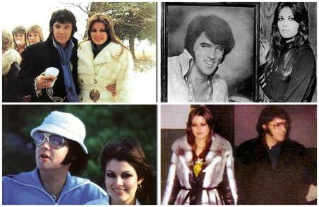 Image result for Elvis and Ginger nov 1976