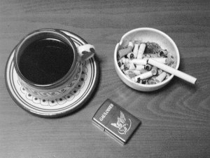coffee and cigarettes as triggers