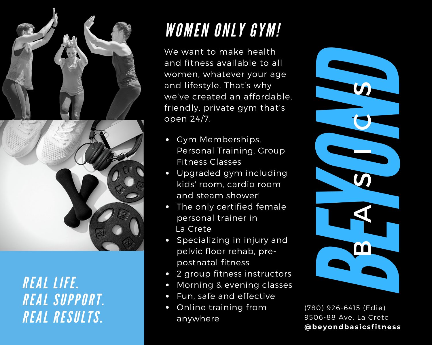 Women Only Gym Jan Updates