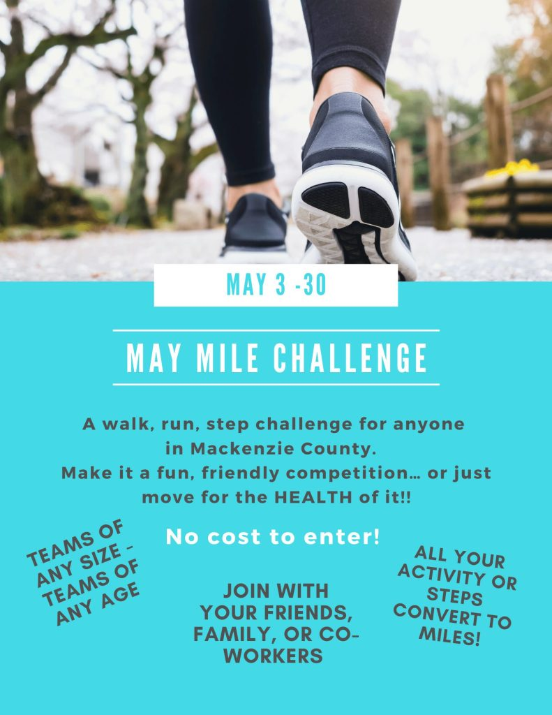 May Mile Challenge