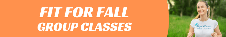 Fit for Fall Class Banner