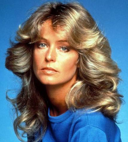 Image result for farrah fawcett hair