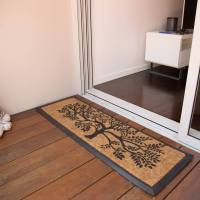 DoorMat 40x120cm TREE OF LIFE Long Coir Door Mat Outdoor