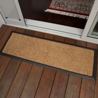 DoorMat 40x120cm PLAIN Long Coir Heavy Duty Door Mat ...