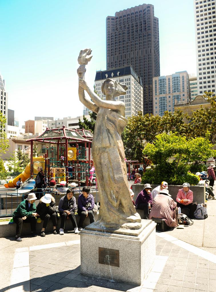 Goddess of Democracy, San Francisco