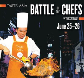 EVENT: Taste Asia in Times Square