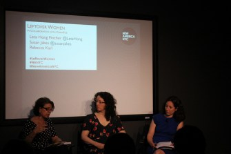 Leftover Women Discussion at New America NYC – Recap and Audio