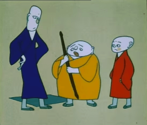 Chinese Animation – Three Monks  (三个和尚 / 三個和尚)