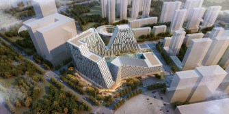 Shenyang Development Mimics a Mountain Landscape, Caters to Entrepreneurs