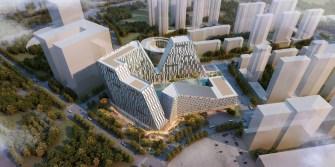 Shenyang Development Mimics a Mountain Landscape, Caters to Entrepreneurs