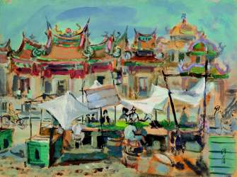 Brimming with Nostalgia: A Journey of Taiwanese Watercolor