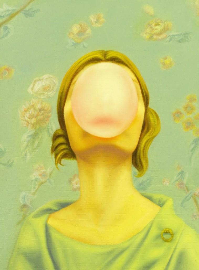 Joyce HO 何采柔 Survival Instinct 適者生存 2012 Oil on Canvas 布面油畫 60 x 40 cm Private collection 私人收藏