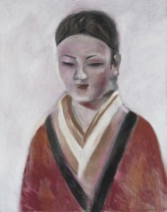 Gang Zhao, Hong Kong Woman, 2016 Oil on canvas