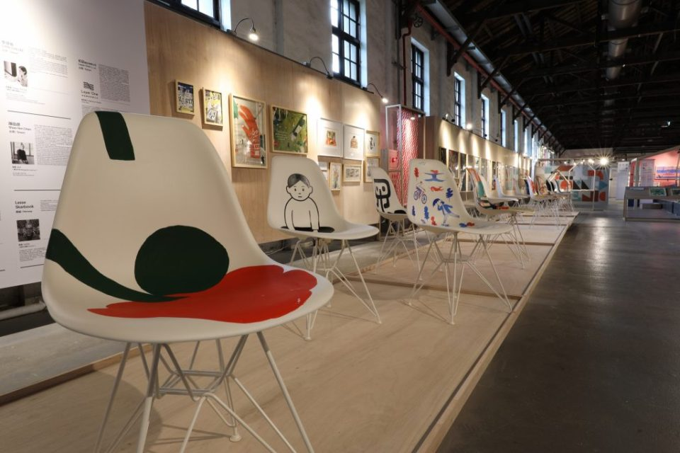 "Inside the ""Taipei Pavilion I"" at the World Design Capital Taipei 2016 International Design House Exhibition."